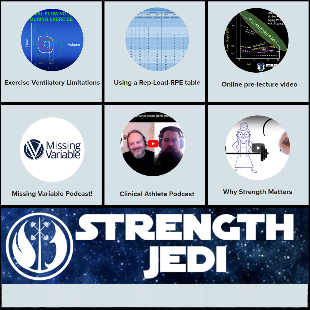 collage of the Mindful Strength Training page