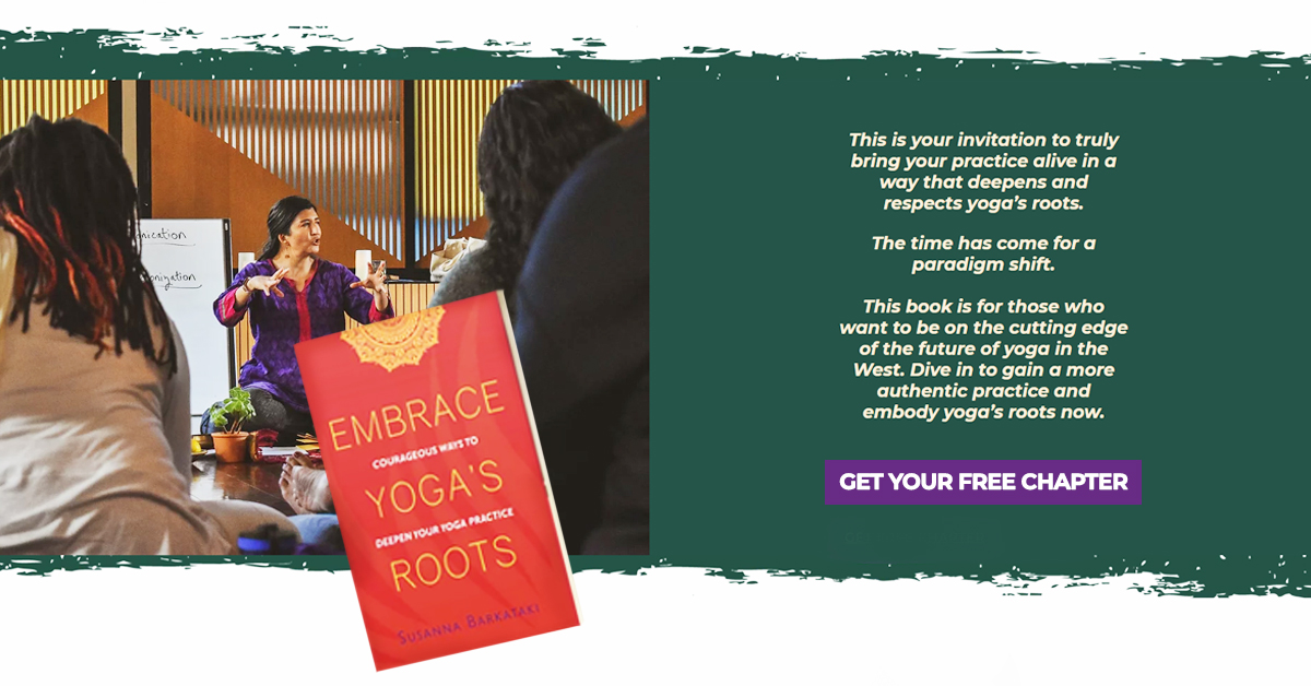 Embrace Yoga's Roots Free Chapter Promotion