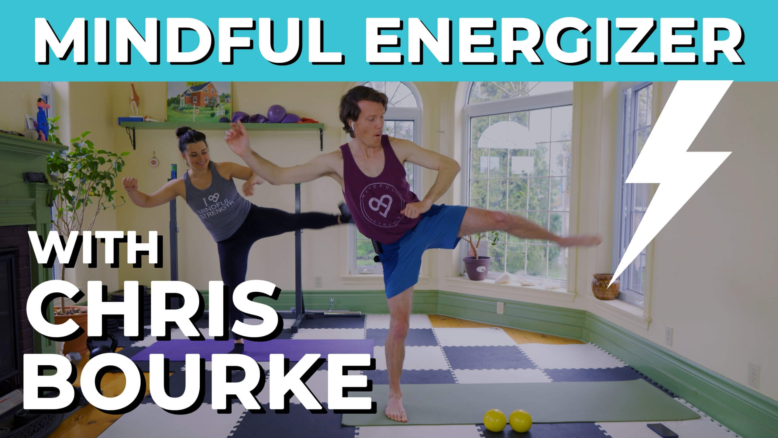 A Video Thumbnail Demonstrating Emotional Strength Exercise